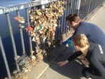 Lover's Locks in Stockholm