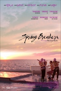 Spring Breakers, movie poster